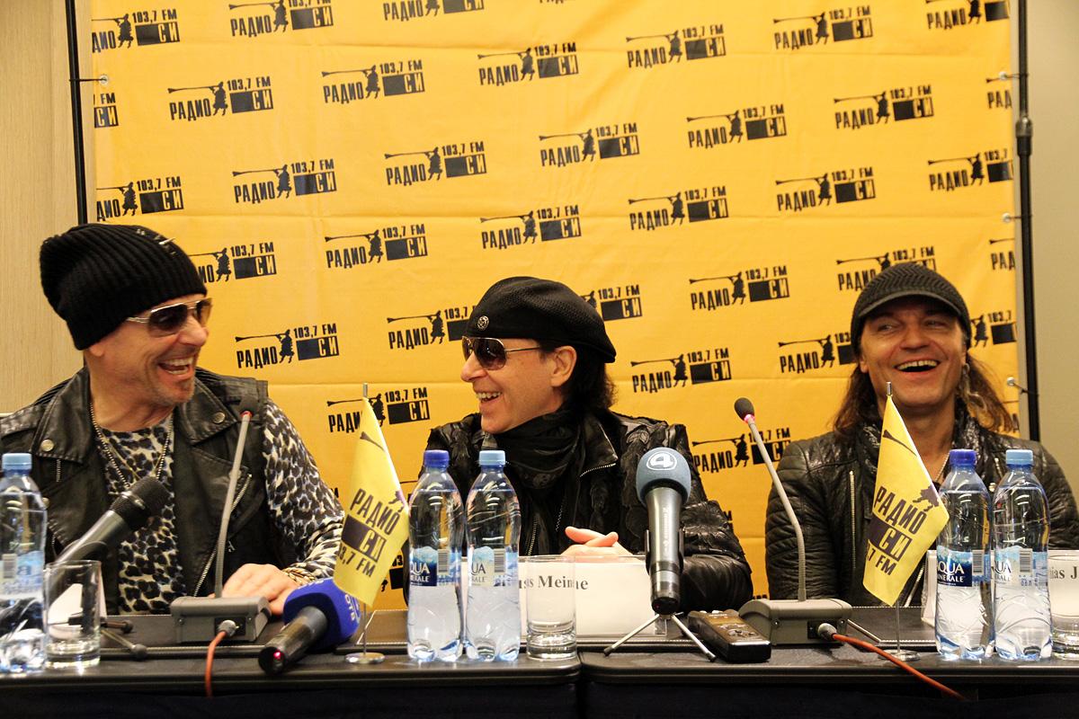 Scorpions не стали говорить о политике в Екатеринбурге: «Мы в России, и этим все сказано»