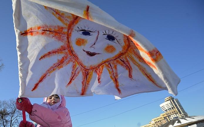 В Екатеринбурге первый день весны обещает быть солнечным и погожим