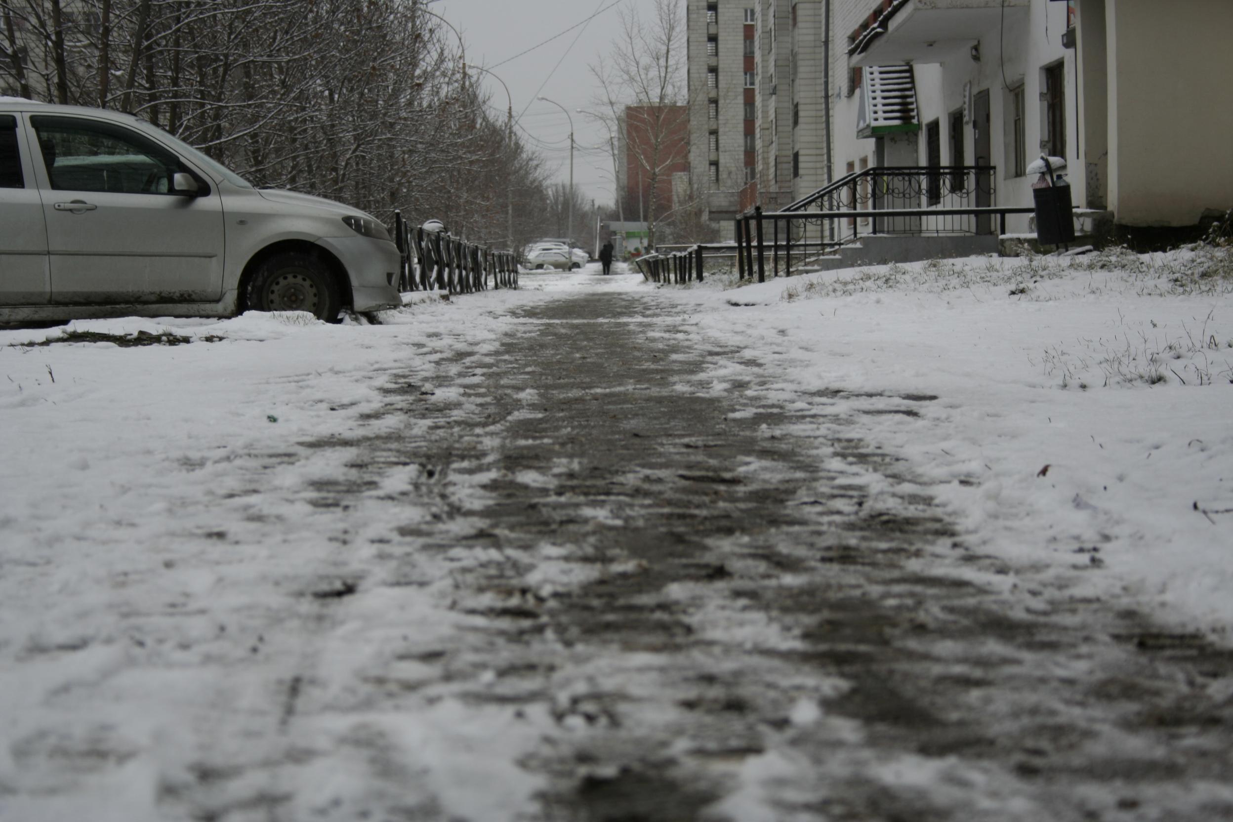 К концу недели дождь со снегом сменится на снег с дождем