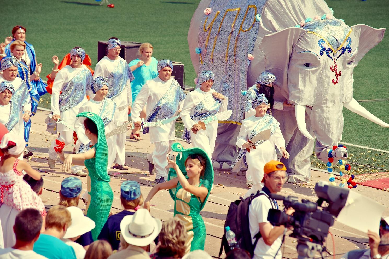 Уральская Бразилия: в Верхней Пышме прошел карнавал