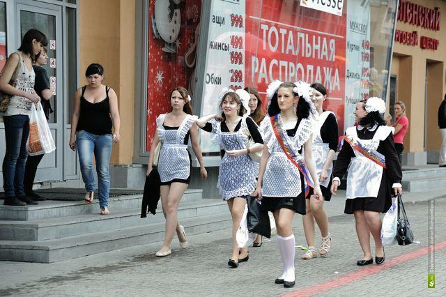 В Екатеринбурге последний звонок прозвенит 24 мая