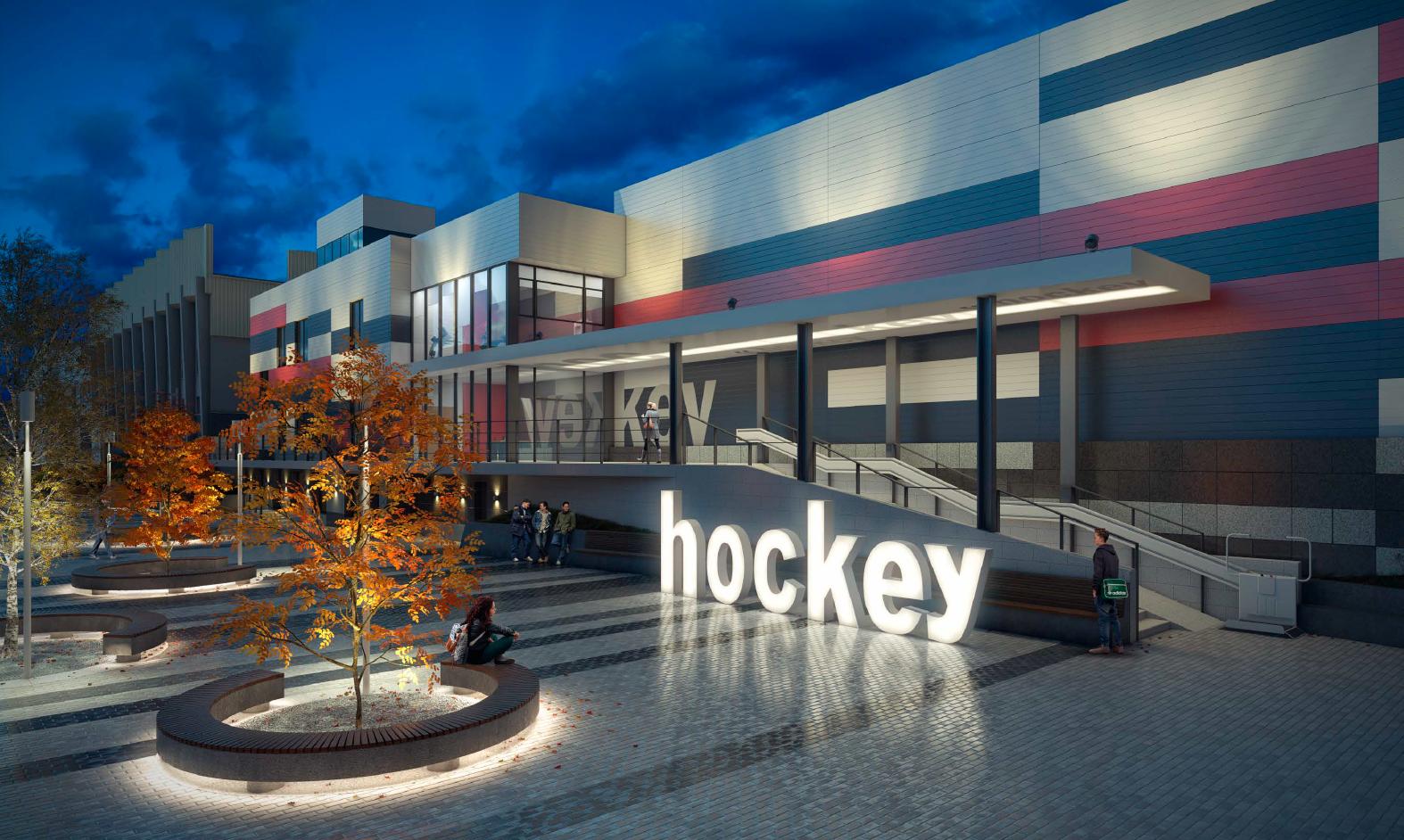 Хоккейный дворец от Путина на территории «Юности» подорожал на 50 млн рублей