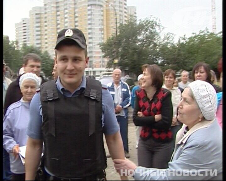 Жители Уралмаша протестуют против строительства кафе