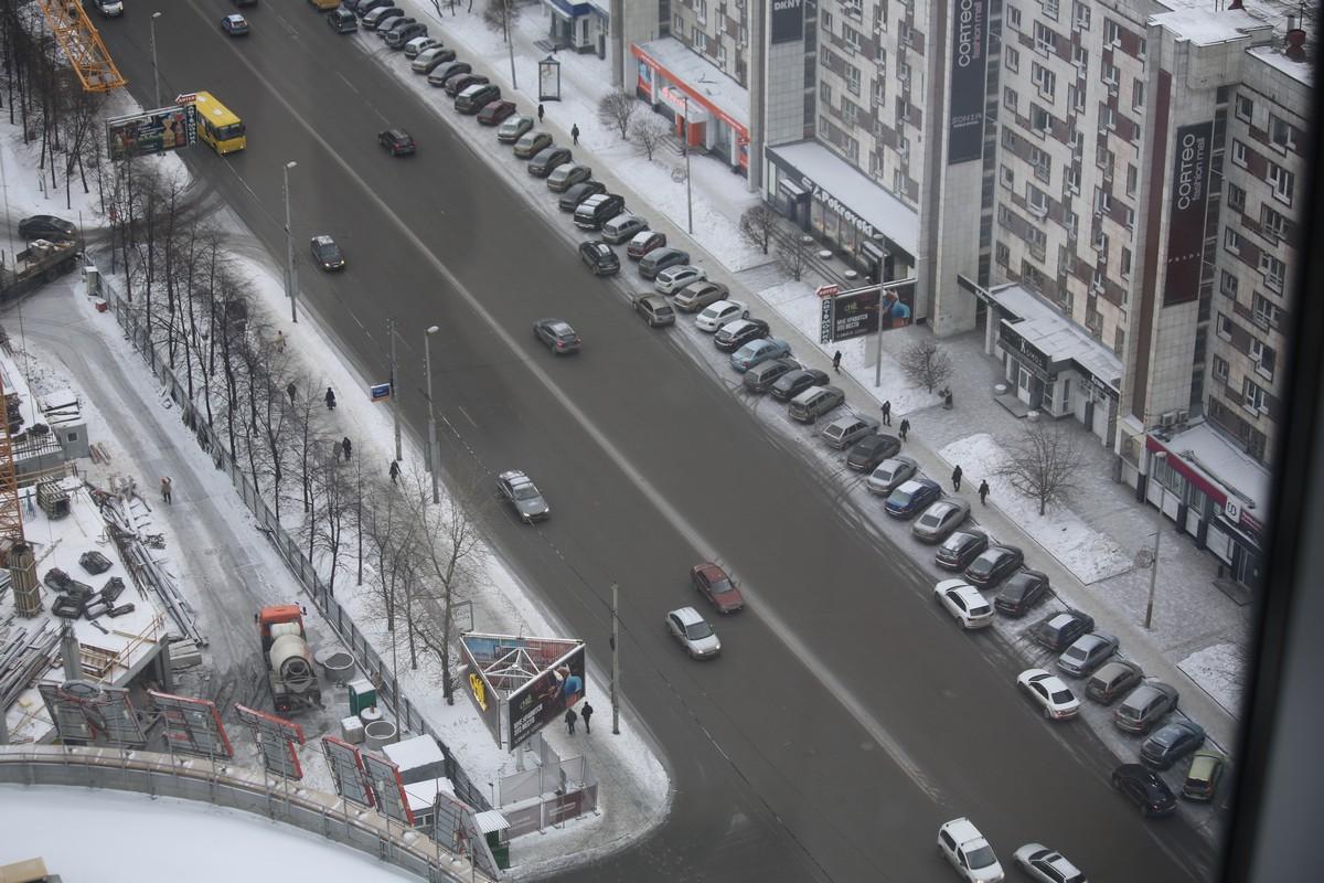 Слава корпоративам! На дорогах Екатеринбурга свободно как никогда