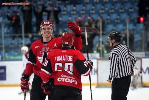 Игроки «Автомобилиста» приглашены в молодежную сборную России