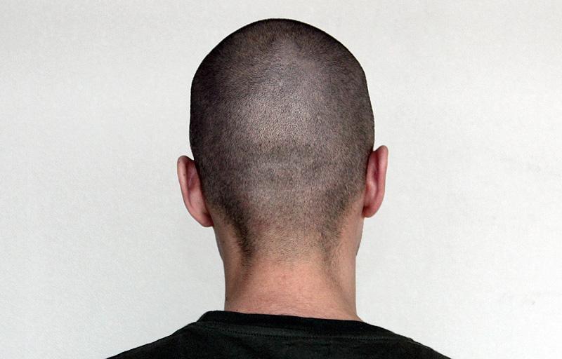 причёска 3 мм фото