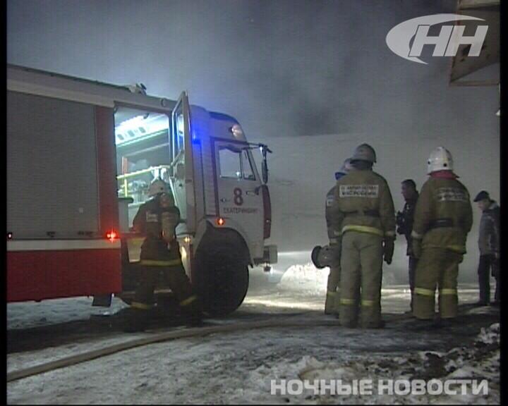 Пожар в гараже на 8 Марта едва не добрался до автозаправки