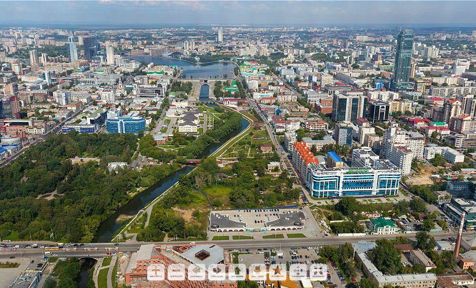 Екатеринбург на ладони: на сайте мэрии появилась новая панорама города