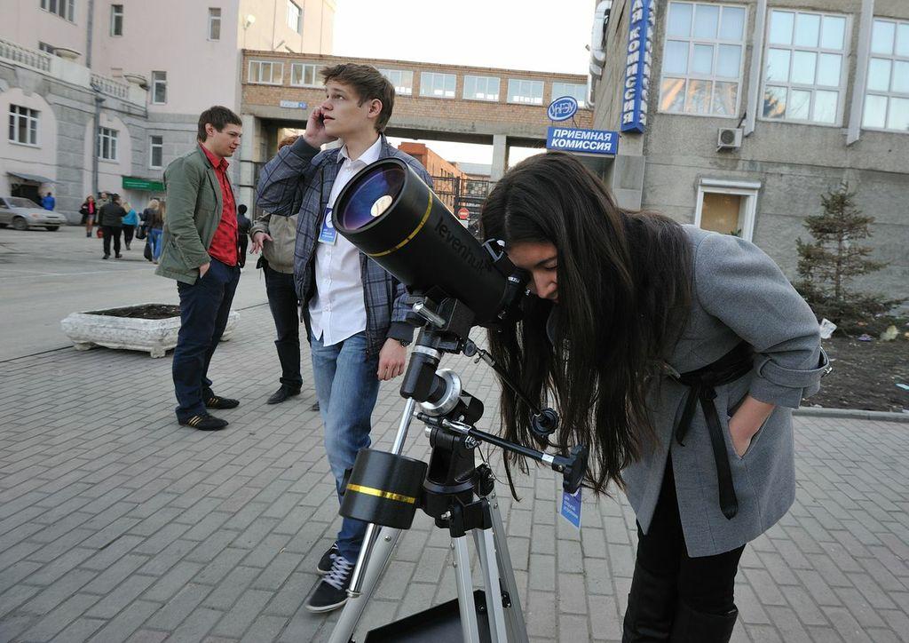 Екатеринбуржцы посмотрели на звезды в День астрономии