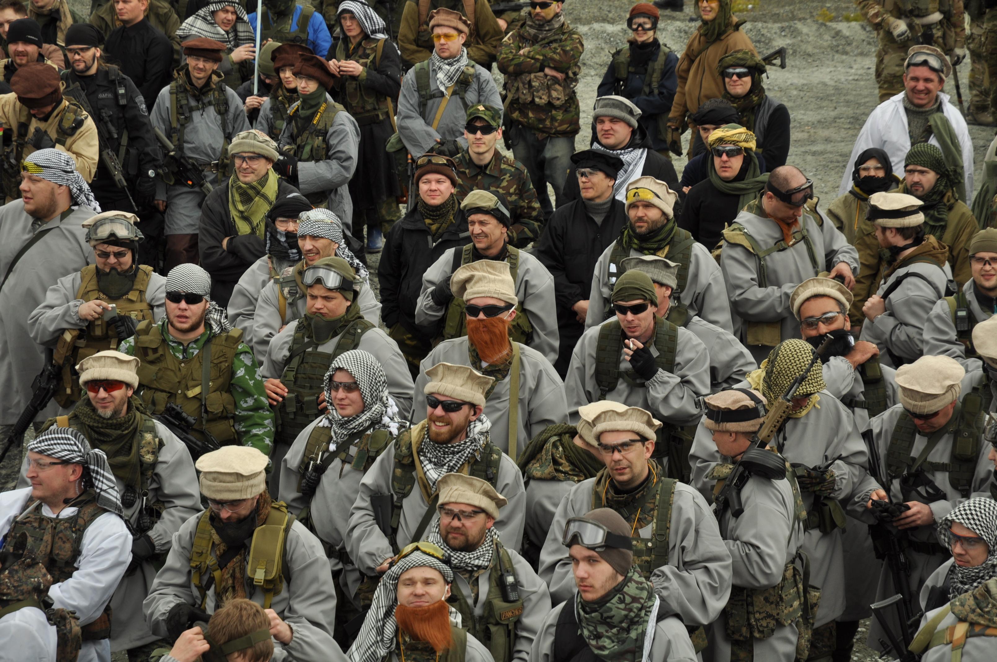 «Азия в огне»: «натовцы» победили «российских пограничников» под Асбестом