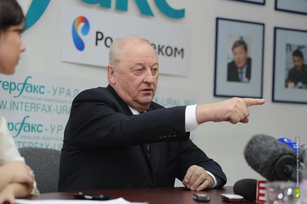 Эдуард Россель: «Навальный дельные вещи говорит»