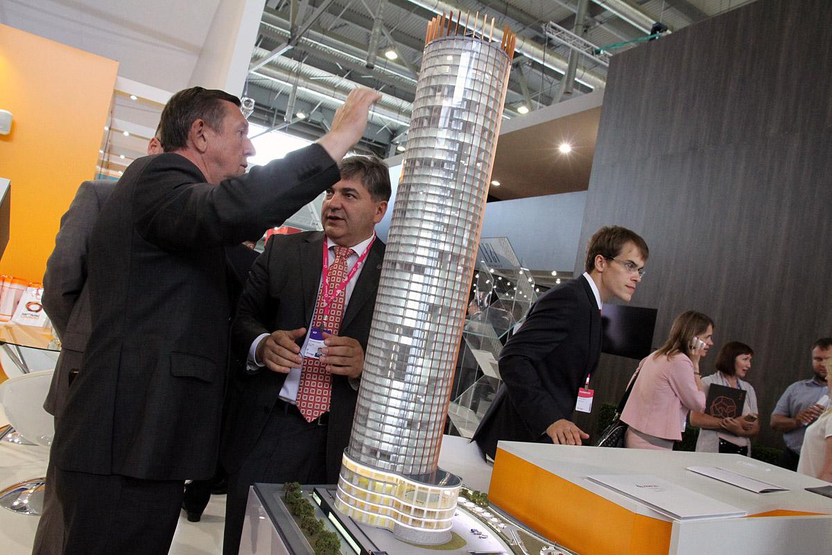 Строители башни «Исеть» придумали, как обойтись без водопроводной воды