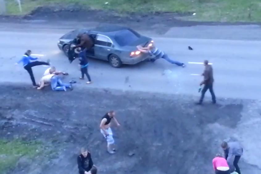 Туринские полицейские до сих пор не опросили всех участников драки у алкомаркета