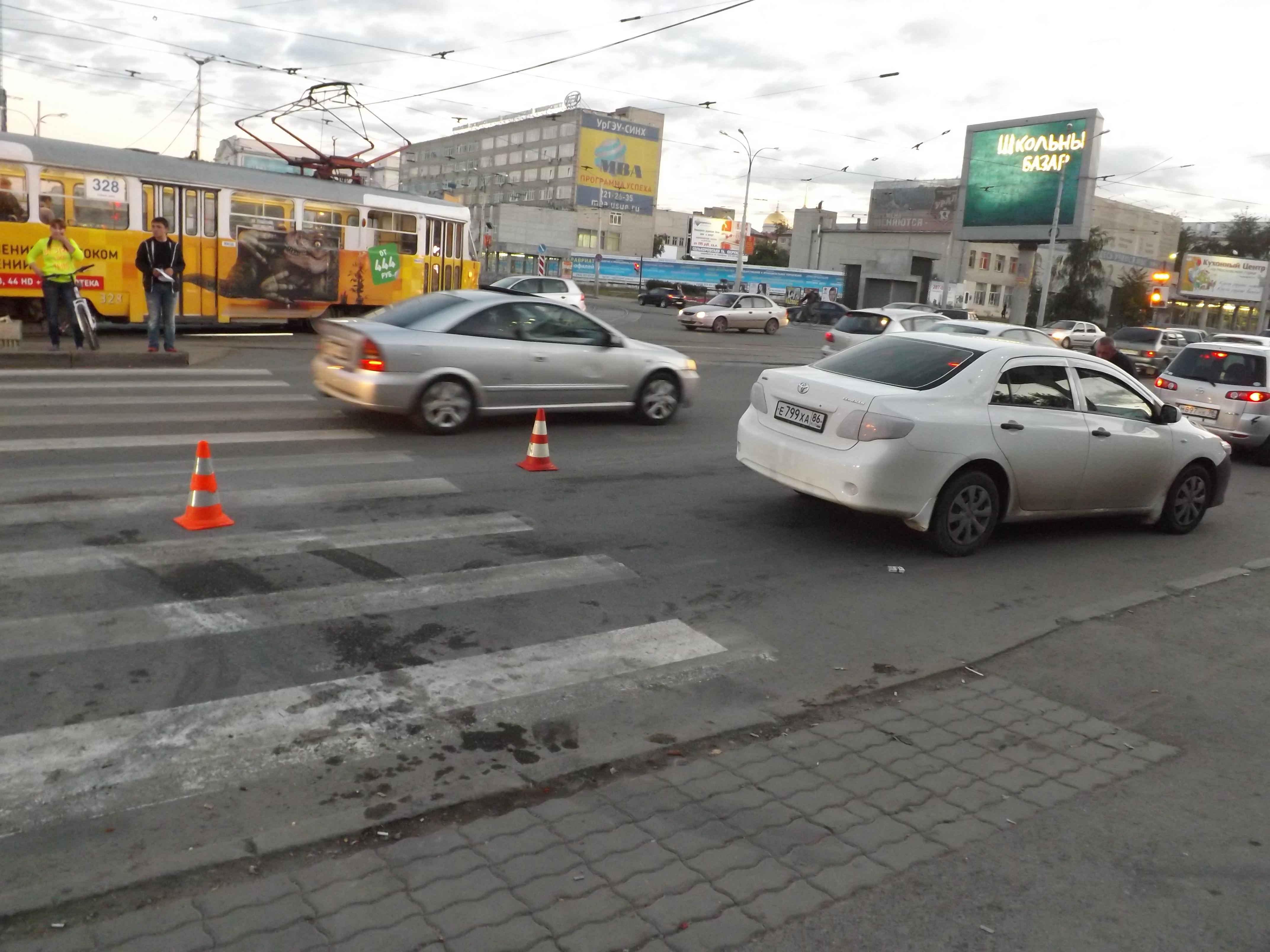 На перекрестке 8 Марта — Куйбышева иномарка сбила 9-летнего мальчика