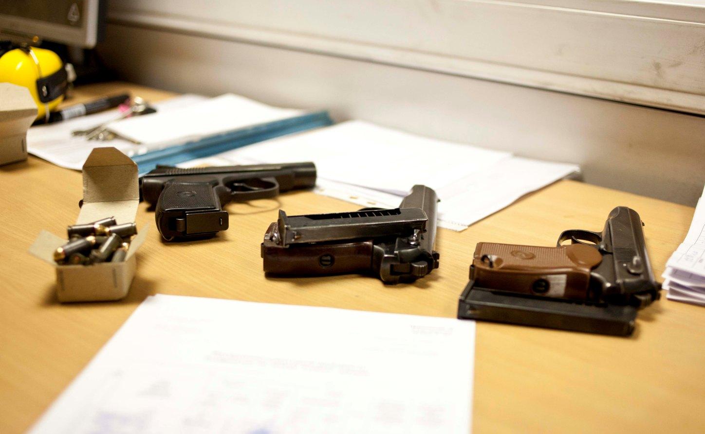 В Каменске-Уральском у местных жителей изъяли ружья и пистолеты