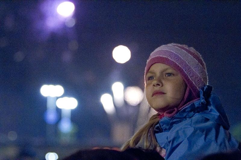 День города: финальный салют с самой высокой точки Екатеринбурга
