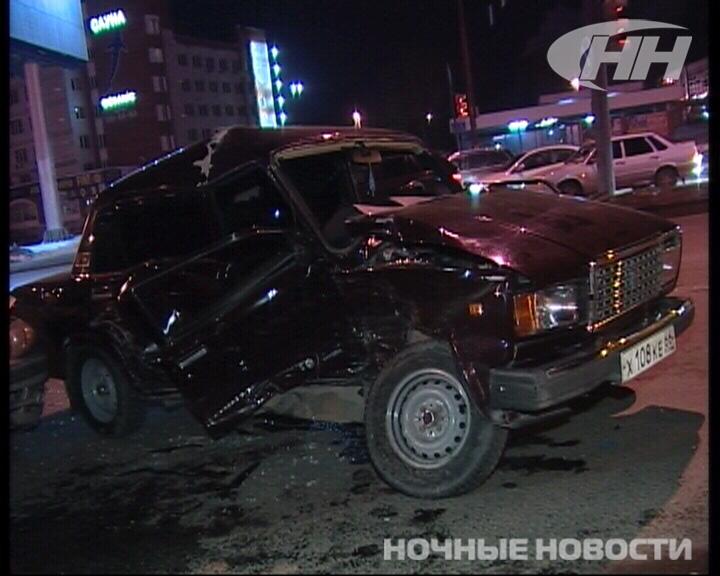 В аварии на Бебеля пострадала женщина