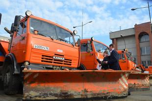 Зимой дороги Екатеринбурга покроют порошком