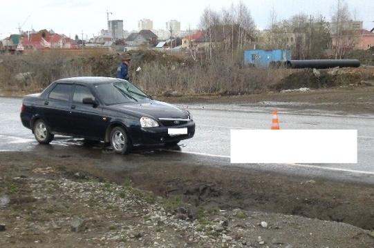 Пешеход погиб под колесами «Лады» на Суходольской