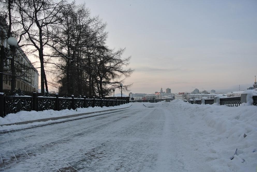 В выходные Екатеринбург слегка подморозит