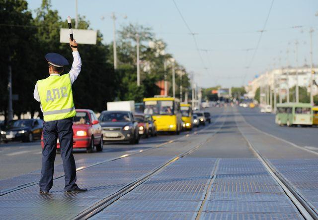 Екатеринбуржцы жалуются на пробки из-за эстафеты