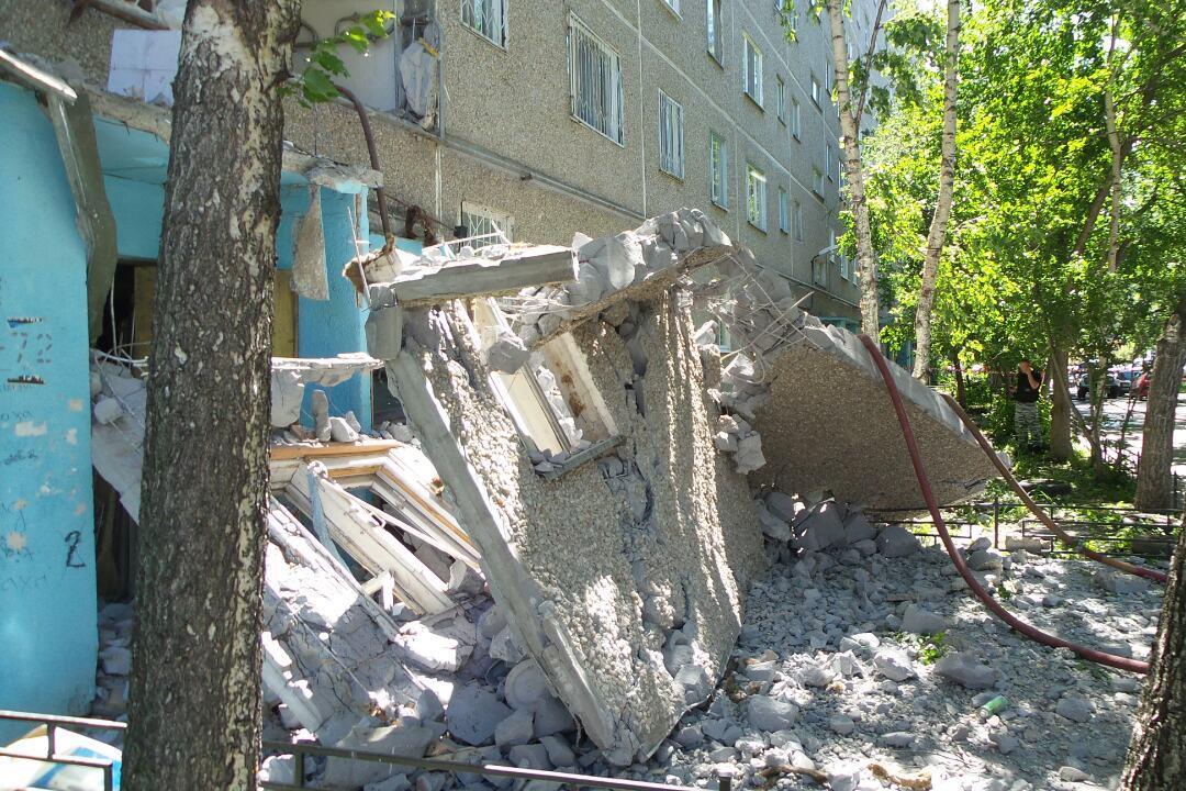 Следователи возбудили уголовное дело по факту взрыва на Сыромолотова