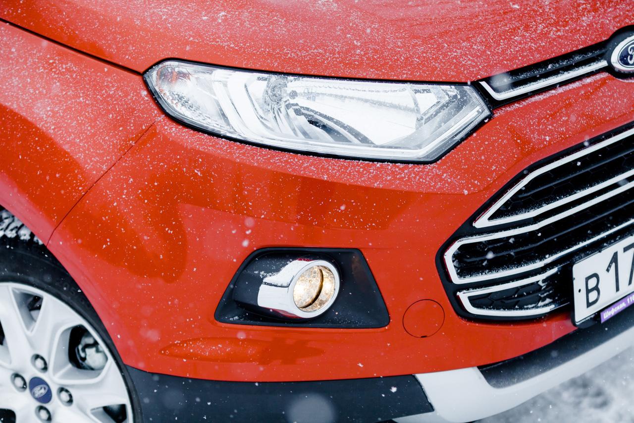 2WD и два сцепления: пытаем моноприводный Ford EcoSport снегопадами