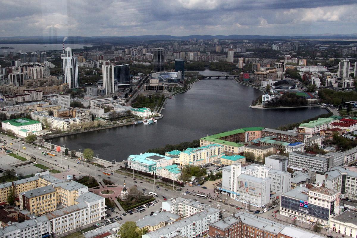 Екатеринбург вошел в пятерку привлекательных городов России