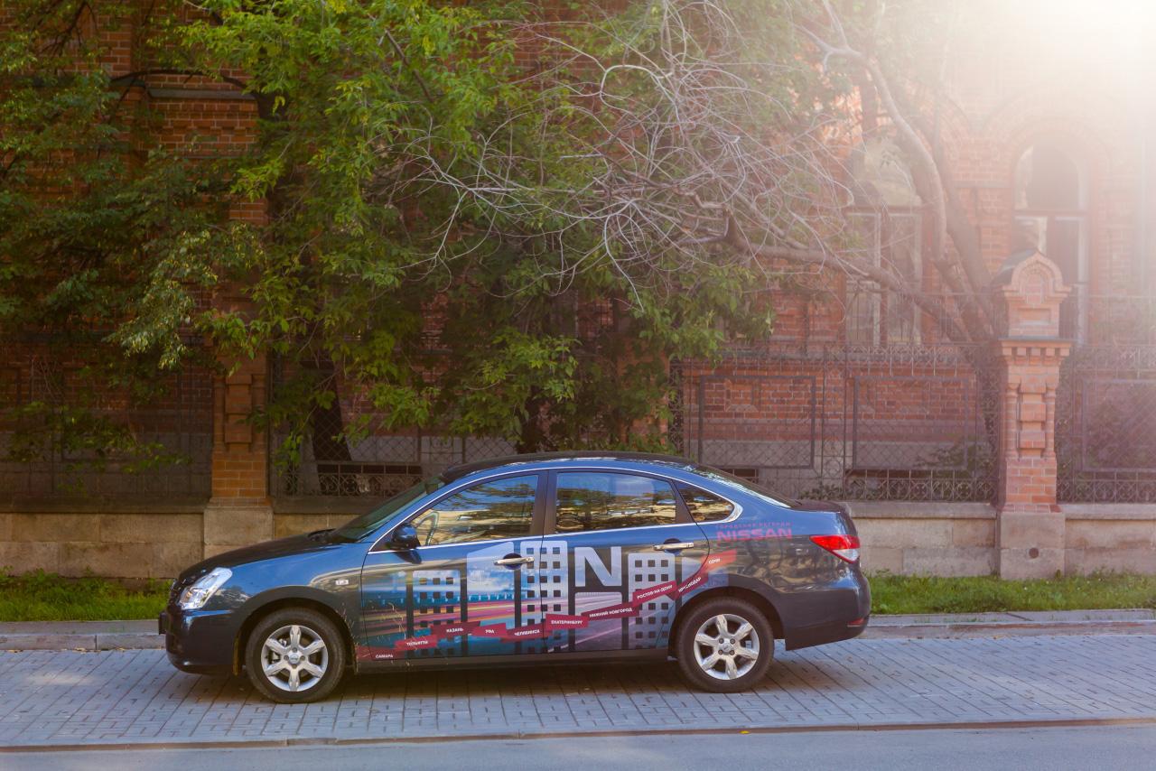 Фасады и задворки: презентуем Екатеринбург гостям пробега «Городские легенды Nissan Almera»