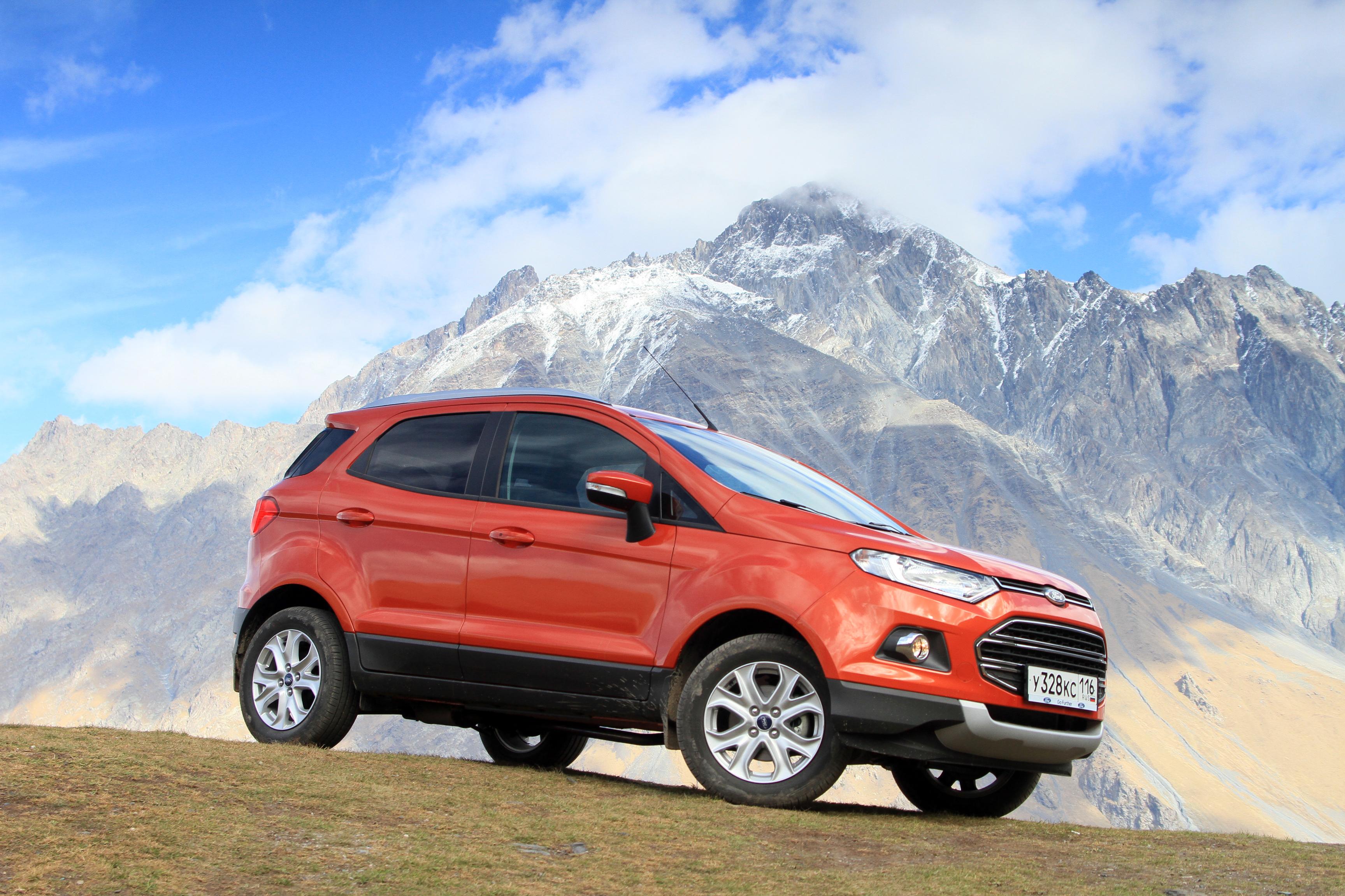 Вот тебе и локализация: Ford EcoSport подорожал на 400 000 рублей