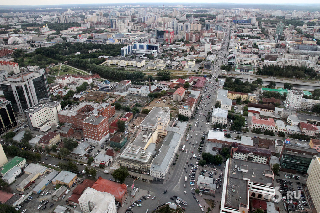 Центр Екатеринбурга собираются очистить от киосков до конца лета