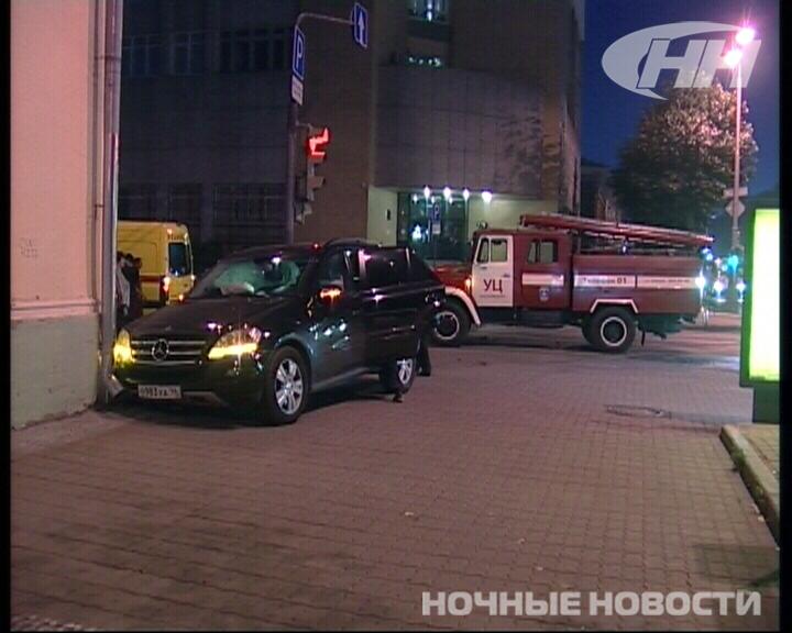 На Ленина Mazda протаранила Mercedes