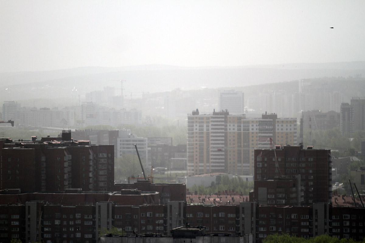 Город в дыму: к Екатеринбургу подступают лесные пожары