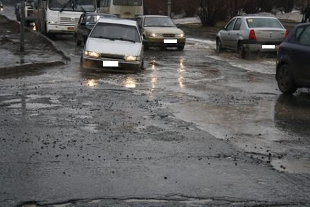 Гаишники забраковали 80% дорог Полевского