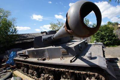 В Екатеринбурге обнаружили немецкий танк T-IV