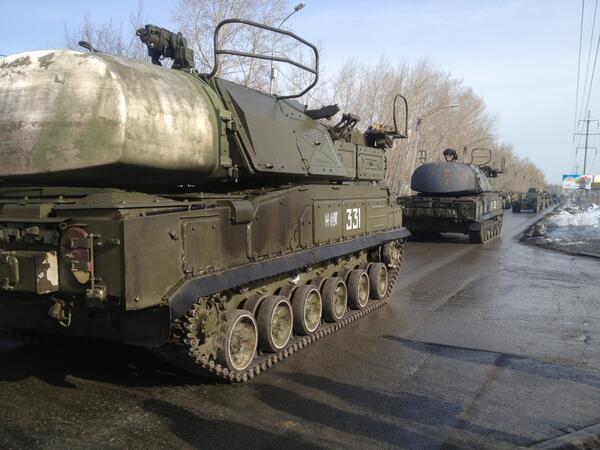 В связи с репетицией парада Победы в Екатеринбурге перекроют улицы