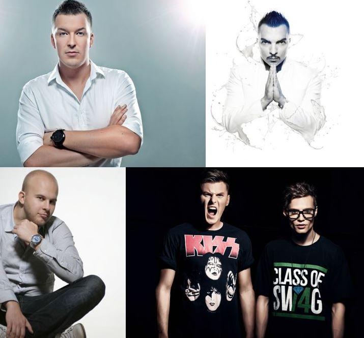 На фестиваль E-SET OPEN AIR в Екатеринбург приедет итальянский диджей Alex Gaudino
