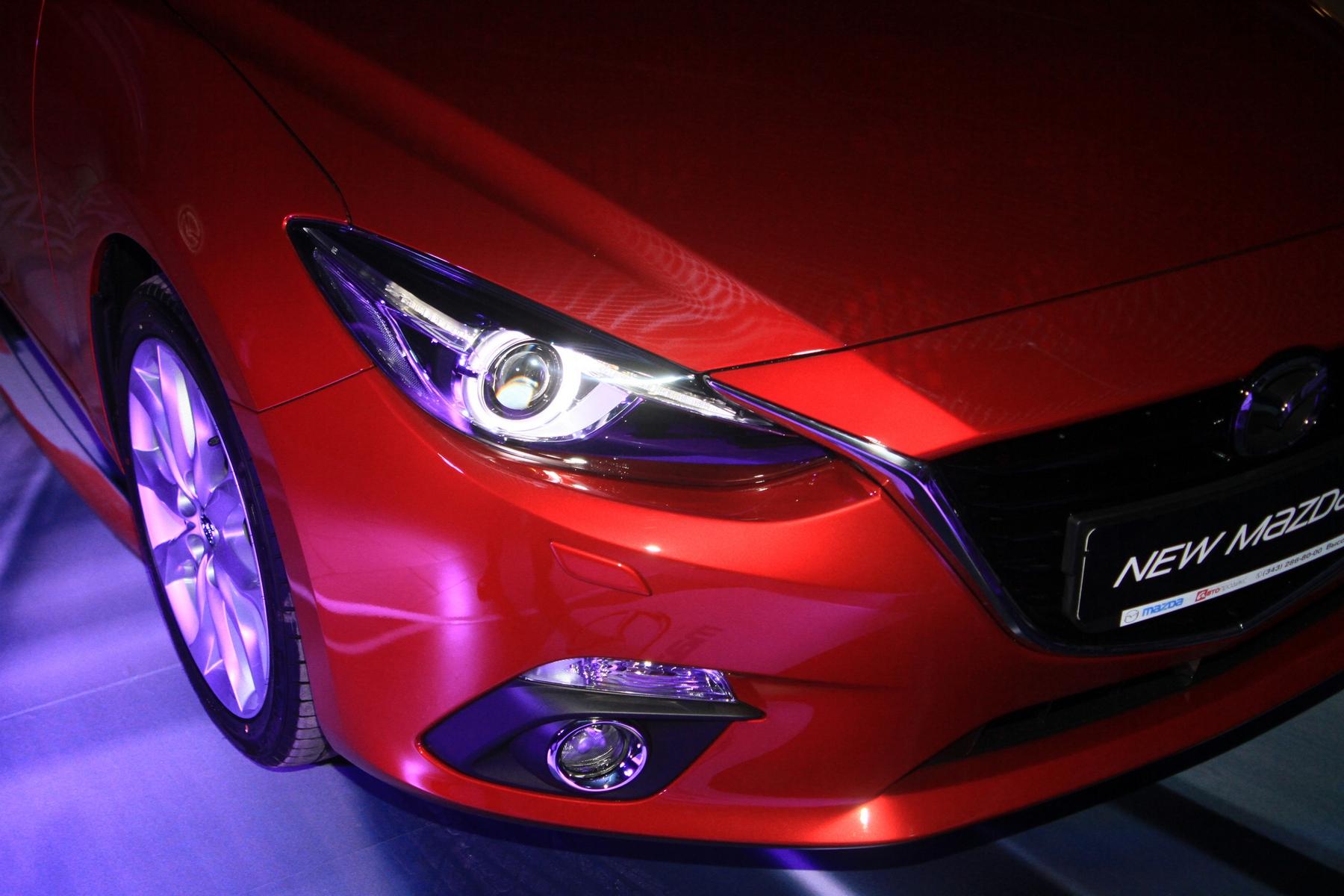 Трижды три: встречаем третье поколение Mazda 3 в Екатеринбурге