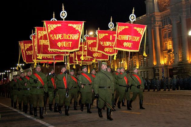 Вечером центр Екатеринбурга перекроют из-за репетиции парада