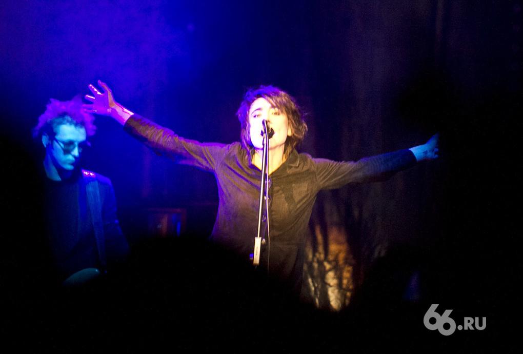 Земфира в Екатеринбурге: эксклюзивные фото с концерта
