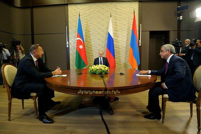 Азербайджан и Армения попросили Путина решить конфликт в Нагорном Карабахе