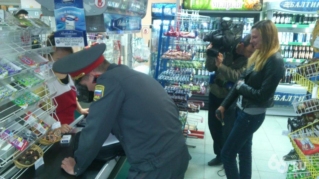 Силовики накрыли две алкоточки в Екатеринбурге