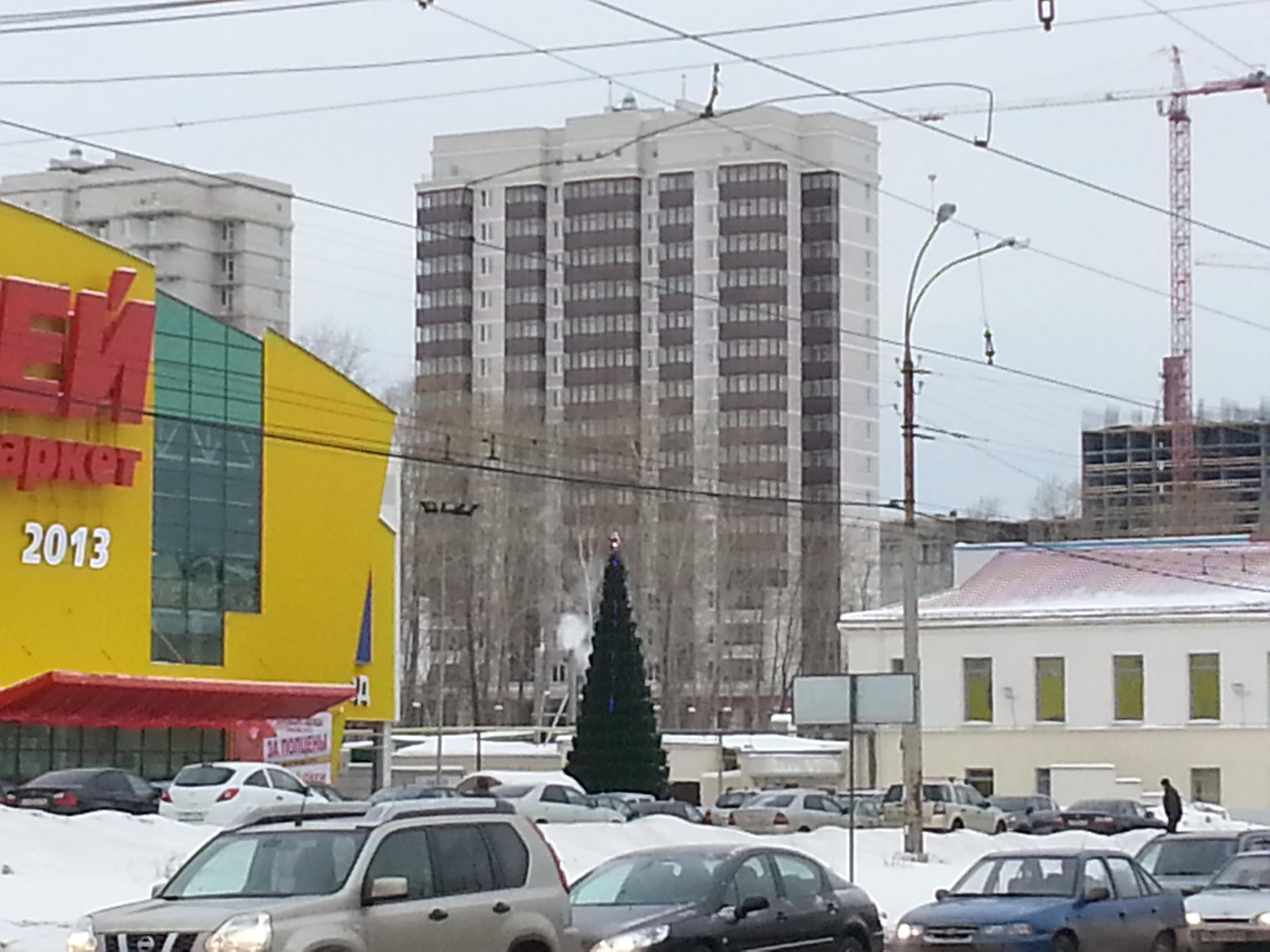 В Екатеринбурге открыли дом с апартаментами. Фоторепортаж