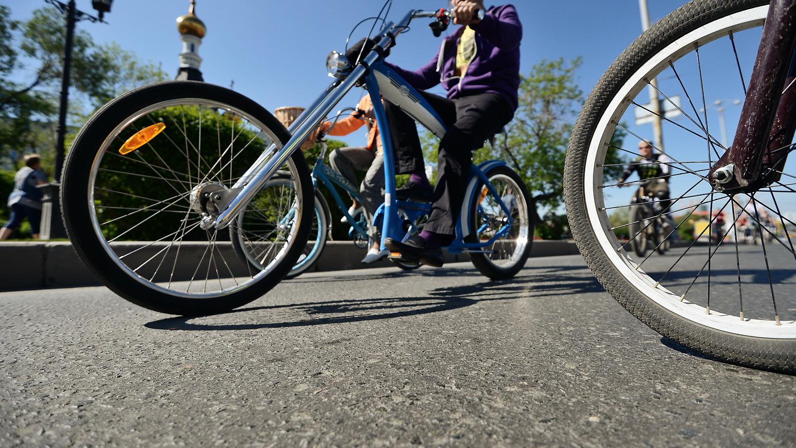 Напротив девятой гимназии пятиклашку наполной скорости сбил велосипедист