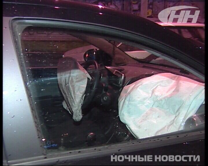 На Щорса — Серова Chevrolet снес Skoda