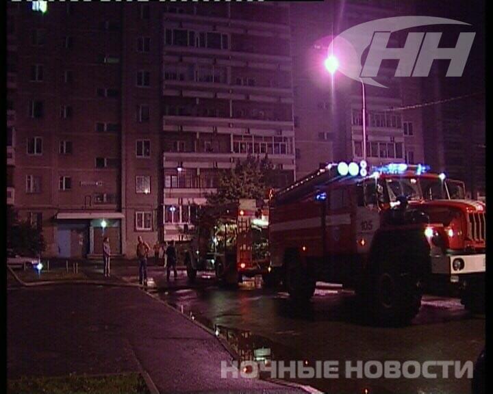 Ночью пожарные выгнали на улицу жильцов дома на Московской