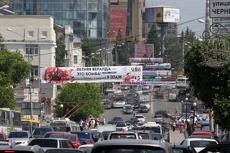 Антимонопольщики отказались бороться с незаконной наружкой в Екатеринбурге