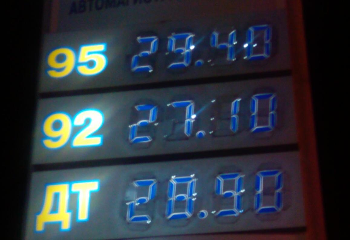 Мониторинг 66.ru: бензин дорожает без тормозов