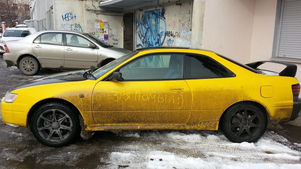 Тысяча рублей и выше: как не нарваться на штраф, отмывая машину от екатеринбургской грязи