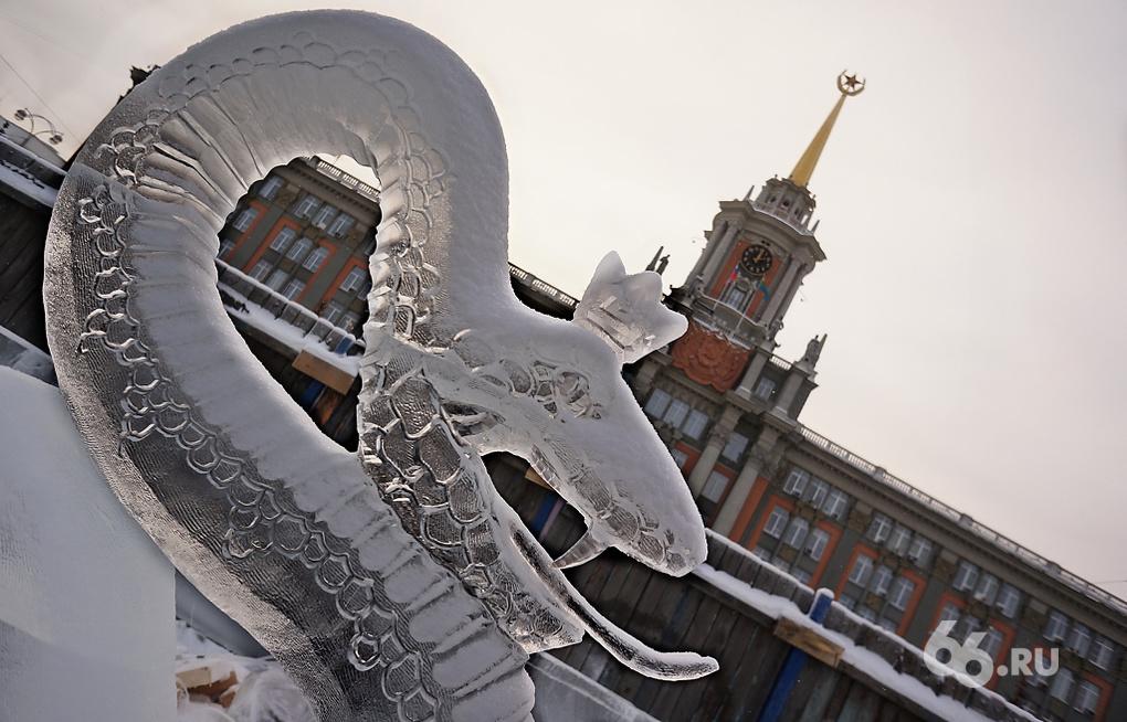 МЧС запретило мэрии переносить ледовый городок в Исторический сквер